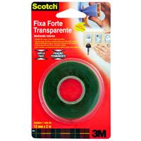 Fita Adesiva Dupla Face Scotch 3M Fixa Forte 24Mmx2M