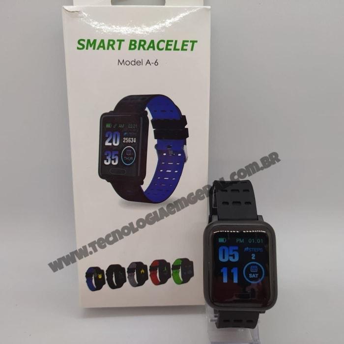 Smartwatch Relogio Inteligente A6 Ios - Preto