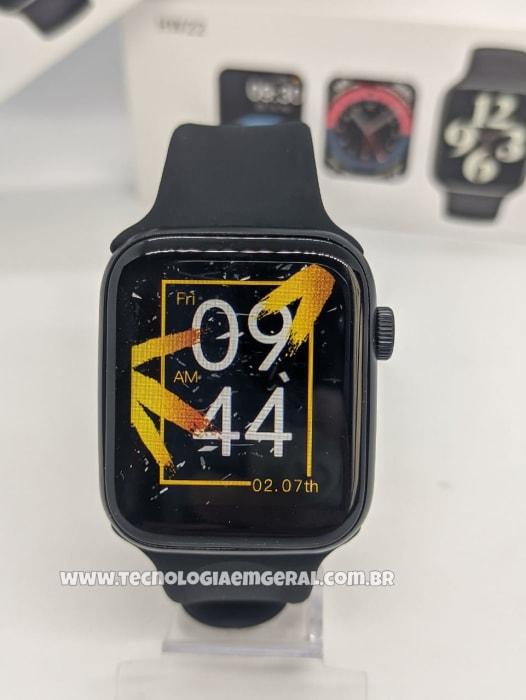 Relógio Smartwatch HW22  - Preto (A prova d'Água)..
