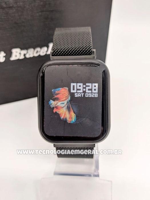 Relógio Smartwatch P70 TFIT Preto