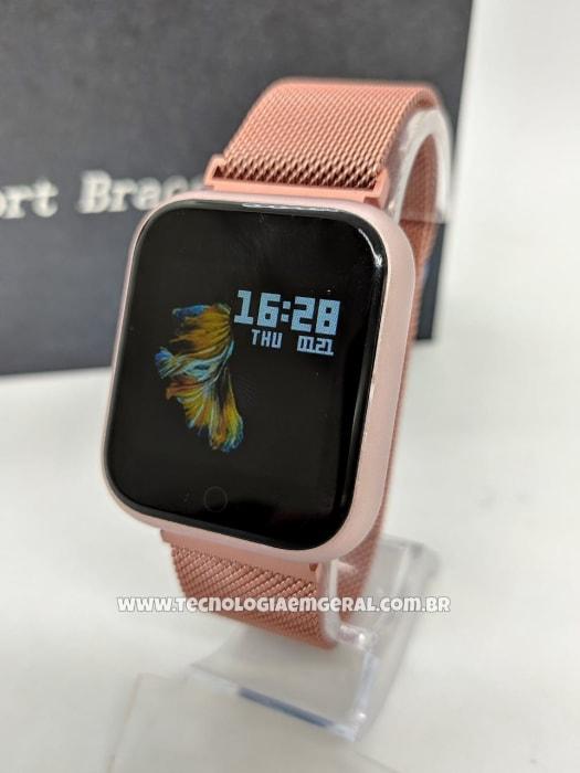 Relógio Smartwatch P70 TFIT - Rosa