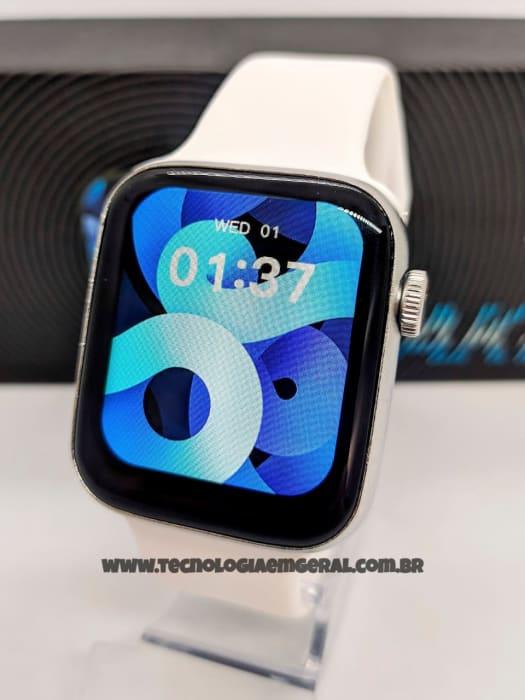 Relógio Smartwatch AK88 - Prata.