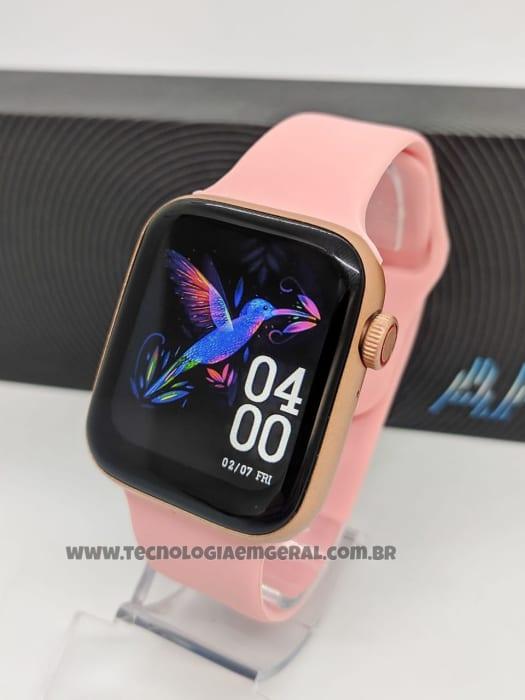 Relógio Smartwatch AK88 - Rosa